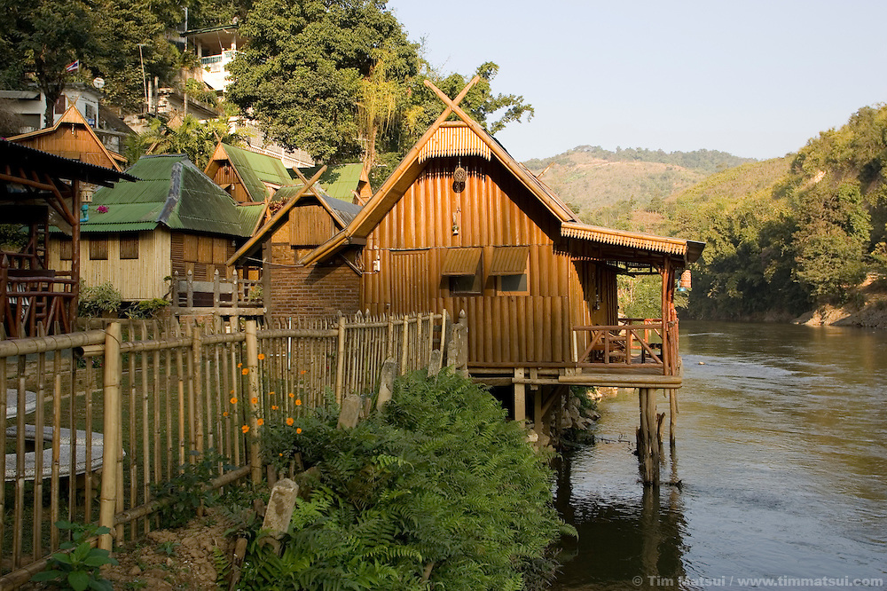 At the riverside Mae Sai guest house on the border with Myanmar (Burma) in the town of Mae Sai, Thailand.