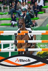 Alvarez Doda De Miranda, (BRA), AD Rahmannshof's Bogeno - Team & Individual Competition Jumping Speed - Alltech FEI World Equestrian Games™ 2014 - Normandy, France.<br /> © Hippo Foto Team - Leanjo De Koster<br /> 02-09-14