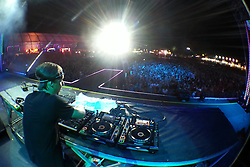 DJ Martin Solveig durante o Planeta Atlântida 2013/RS, que acontece nos dias 15 e 16 de fevereiro na SABA, em Atlântida. FOTO: Marcos Nagelstein/Preview.com
