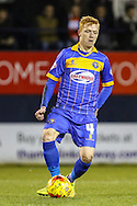Ryan Woods of Shrewsbury Town during the Sky Bet League 2 match at Kenilworth Road, Luton<br /> Picture by David Horn/Focus Images Ltd +44 7545 970036<br /> 08/01/2015