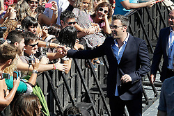 22.09.2012, San Sebastian Donostia, ESP, 60th San Sebastian Donostia International Film Festival, im Bild Film Director Ben Affleck attends the fans // after the photocall of 'Argo' // during 60th San Sebastian Donostia International Film Festival, San Sebastian Donostia, Spain on 2012/09/22. EXPA Pictures © 2012, PhotoCredit: EXPA/ Alterphotos/ Acero..***** ATTENTION - OUT OF ESP and SUI *****