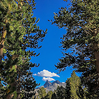 Donahue Pass - Entering the Ansel Adams Wilderness - JMT, John Muir, Trail, Yosemite, Mt. Whitney, 240 miles, PCT, Pacific Crest Trail,  2015.  (EricReedPhoto.com)