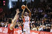 Williams Jawad<br /> Grissin Bon Reggio Emilia - The Flexx Pistoia<br /> Lega Basket Serie A 2016/2017<br /> Reggio Emilia 30/04/2017<br /> Foto Ciamillo-Castoria
