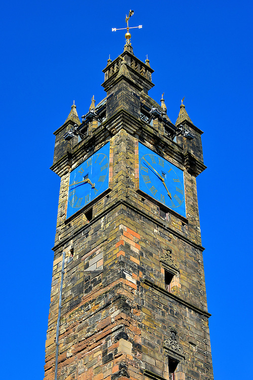 Tolbooth Steeple in Glasgow, Scotland<br />