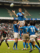 Twickenham, England. ITA win  clean unchallenged line out ball, during the ITA vs Kenya match,  at the London Sevens Rugby, Twickenham Stadium, Sun, 27/05/2007 [Credit Peter Spurrier/ Intersport Images]