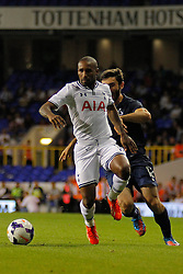 29.08.2013, White Hart Lane, London, ENG, UEFA CL Qualifikation, Tottenham Hotspur vs FC Dinamo Tiflis, Rueckspiel, im Bild Tottenham's Jermain Defoe during the UEFA Europa League Qualifier second leg match between Tottenham Hotspur and FC Dinamo Tiflis Zuerich at the White Hart Lane in London, England on 2013/08/29 . EXPA Pictures © 2013, PhotoCredit: EXPA/ Mitchell Gunn <br /> <br /> ***** ATTENTION - OUT OF GBR *****