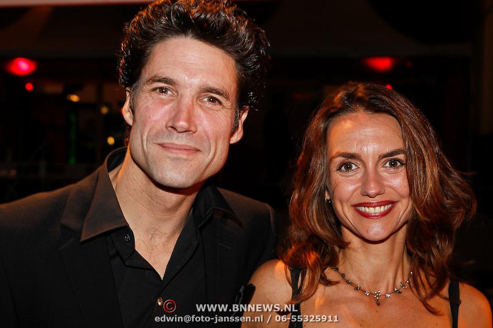 NLD/Utrecht/20101001 - NFF 2010 - Gouden Kalveren 2010 uitreiking, Daniel Boissevain en partner Vanessa Henneman