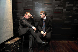 Left to right, JAMES NAUGHTIE and LORD MANDELSON at the launch of the Imperial War Museum's 70th anniversary commemorating the outbreak of World War 11 held at the Cabinet War Rooms, Whitehall, London on 2nd September 2009.