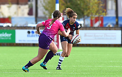 Lucy Attwood of Bristol Bears Women - Mandatory by-line: Paul Knight/JMP - 28/09/2019 - RUGBY - Shaftesbury Park - Bristol, England - Bristol Bears Women v Loughborough Lightning  - Tyrrells Premier 15s