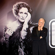 "Glenn Close meets the press as she prepares for the Broadway return of ""Sunset Boulevard"""