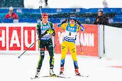March 10, 2019 - –Stersund, Sweden - 190310 Denise Herrmann of Germany and Mona Brorsson of Sweden during the Women's 10 km Pursuit during the IBU World Championships Biathlon on March 10, 2019 in Östersund. 10, 2019 in Östersund..Photo: Johan Axelsson / BILDBYRÃ…N / Cop 245 (Credit Image: © Johan Axelsson/Bildbyran via ZUMA Press)