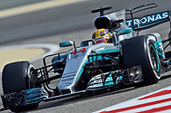 Lewis Hamilton of Mercedes AMG Petronas during the Bahrain Formula One Grand Prix Qualifying session at the International Circuit, Sakhir<br /> Picture by EXPA Pictures/Focus Images Ltd 07814482222<br /> 15/04/2017<br /> *** UK &amp; IRELAND ONLY ***<br /> <br /> EXPA-EIB-170415-0288.jpg