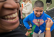 Houston ISD middle school students participate in Special Olympics Field Day at Butler Stadium, November 9, 2016.