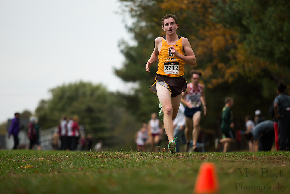 Rowan University Zach Helm - Collegiate Track Conference  Cross-Country Men's Championship at Gloucester County College in Sewell, NJ on Saturday October 19, 2013. (photo / Mat Boyle)