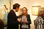 FEDJA KLIKOVAC AND AMANDA CORNISH, 'Art is Why I get up in the morning' Unseen pieces from Elizabeth Frink's studio and work by four contemporary British artists: Lin Jammet, amanda Cornish, Kitty Blandy and Olivia Lomench gill. Ryder St. gallery. London. 28 March 2006. ONE TIME USE ONLY - DO NOT ARCHIVE  © Copyright Photograph by Dafydd Jones 66 Stockwell Park Rd. London SW9 0DA Tel 020 7733 0108 www.dafjones.com