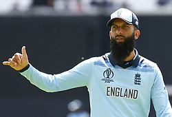 May 27, 2019 - London, England, United Kingdom - Moeen Ali of England.during ICC Cricket World Cup - Warm - Up between England and Afghanistan at the Oval Stadium , London,  on 27 May 2019. (Credit Image: © Action Foto Sport/NurPhoto via ZUMA Press)
