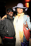 Black Thought and Joy at The Erykah Badu NewAmerykah Tour with the Roots at Radio City Music Hall on May 9, 2008..