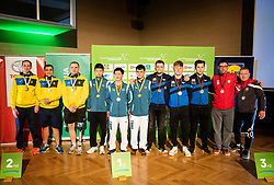 Medal ceremony during Closing ceremony at Day 4 of 16th Slovenia Open - Thermana Lasko 2019 Table Tennis for the Disabled, on May 11, 2019, in Thermana Lasko, Lasko, Slovenia. Photo by Vid Ponikvar / Sportida