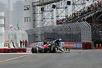 Marco Andretti, Mario Moraes, Sao Paulo Indy 300, Streets of Sao Paulo, BRA 3/14/2010