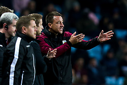 Aston Villa Assistant Coach John Terry argues with the fourth official - Mandatory by-line: Robbie Stephenson/JMP - 02/11/2018 - FOOTBALL - Villa Park - Birmingham, England - Aston Villa v Bolton Wanderers - Sky Bet Championship