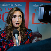 Nadia Forde Arrivers at Once Upon a Time in London - London premiere of the rise and fall of a nationwide criminal empire that paved the way for notorious London gangsters the Kray Twins and the Richardsons at The Troxy 490 Commercial Road, on 15 April 2019, London, UK.