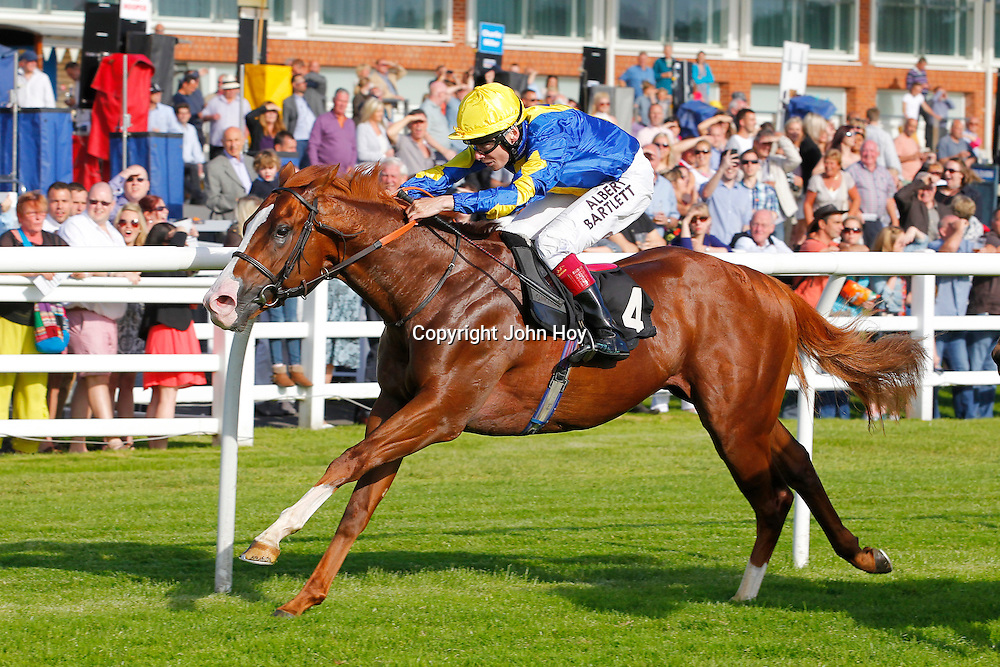Doctor Sardonicus and Jamie Spencer winning the 6.05 race