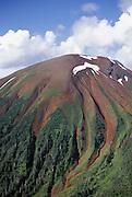 Alaska, Kruzoff Island, Mt. Edgecumbe