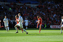 March 24, 2019 - Cardiff, United Kingdom - Daniel James during the UEFA European Championship Group E Qualifying match between Wales and Slovakia at the Cardiff City Stadium, Cardiff on Sunday 24th March 2019. (Credit Image: © Mi News/NurPhoto via ZUMA Press)