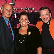 Opening Pushkin Red, Barry Hughes, Tini en Theo Sijthoff