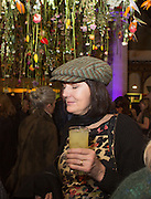 LUCY FERRY, Fashion and Gardens, The Garden Museum, Lambeth Palace Rd. SE!. 6 February 2014.