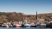 View of Kirkcudbright harbour