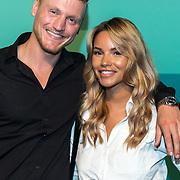 NLD/Halfweg20190829 - Seizoenspresentatie RTL 2019 / 2020, Kaj Gorgels en Monica Geuze
