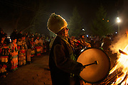 Jan. 14, 2011 -- Kukeri, babugeri, survakari -- Balkan traditions.