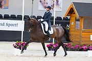Tommie Visser - Fabiola Begijnhoeve<br /> WK Selectie Jonge Dressuurpaarden 2017<br /> © DigiShots