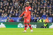 Cedric Kipre (21)  during the The FA Cup match between Leicester City and Wigan Athletic at the King Power Stadium, Leicester, England on 4 January 2020.