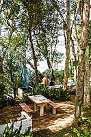 Área de lazer no Balneário de Pratas. São Carlos, Santa Catarina, Brasil. / Leisure area at Balneario de Pratas. Sao Carlos, Santa Catarina, Brazil.