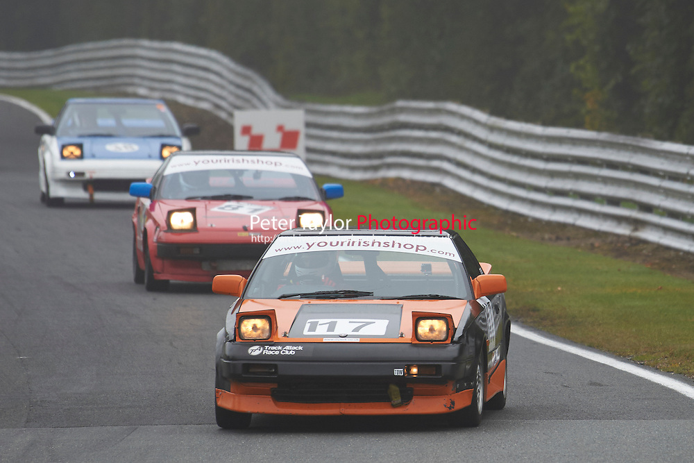 #117 Stephen WRIGHT Toyota MR2 Mk1 during Nippon Challenge / Youririshshop.com MR2 Racing Series - Qualifying  as part of the BARC Championships Race Day at Oulton Park, Little Budworth, Cheshire, United Kingdom. October 03 2015. World Copyright Taylor/PSP. Copy of publication required for printed pictures.  Every used picture is fee-liable. http://archive.petertaylor-photographic.co.uk