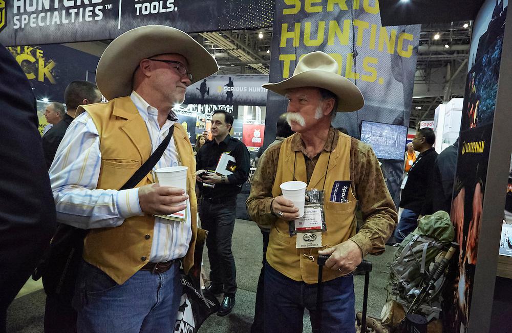 Shot Show, Leatherman Tool Group,  January 2016, Sands Expo Center Las Vegas, NV : Marguerite Schumm