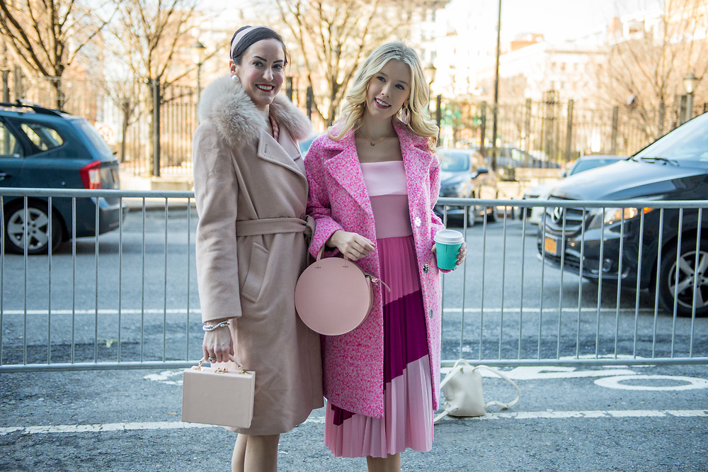 Two Looks in Pink at NYFW Day 1