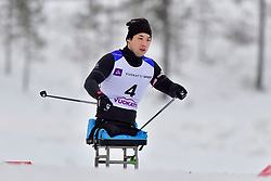 WON Yoomin, KOR, LW11.5 at the 2018 ParaNordic World Cup Vuokatti in Finland