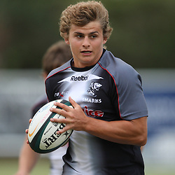 during the Sharks training session at the Absa Stadium on Tuesday 20th April  Durban, South Africa.. Photo by Steve Haag