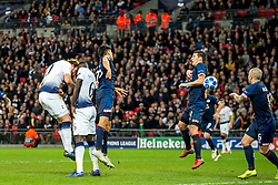 November 6, 2018 - London, Greater London, England - Harry Kane of Tottenham Hotspur scores the winning goal during the UEFA Champions League Group Stage match between Tottenham Hotspur and PSV Eindhoven at Wembley Stadium, London, England on 6 November 2018. Photo by Salvio Calabrese. (Credit Image: © AFP7 via ZUMA Wire)