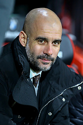Manchester City manager Josep Guardiola smiles - Mandatory by-line: Jason Brown/JMP - 13/02/2017 - FOOTBALL - Vitality Stadium - Bournemouth, England - Bournemouth v Manchester City - Premier League