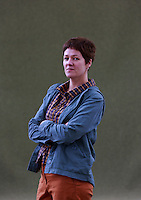 Rachel Seiffert is an award-winning British novelist and short story writer<br /> Edinburgh International Book Festival 2014 photos taken in Charlotte Square Gardens. Edinburgh. Pako Mera 11/08/2014