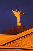 Image of the statue atop the Arizona State Capitol Museum, Phoenix, Arizona, American Southwest