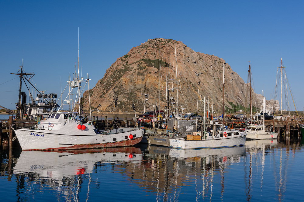 Harbor, Morro Bay is a waterfront city in San Luis Obispo County, California