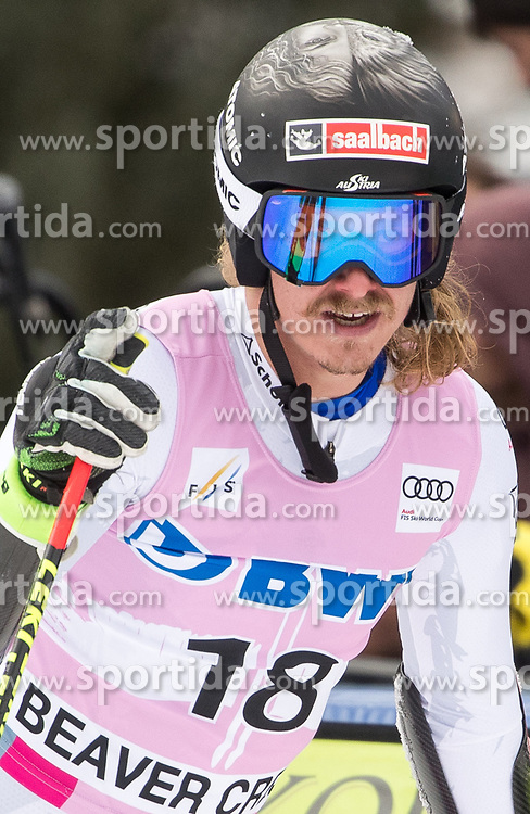 03.12.2017, Beaver Creek, USA, FIS Weltcup Ski Alpin, Beaver Creek, Riesenslalom, Herren, 2. Lauf, im Bild Manuel Feller (AUT) // Manuel Feller of Austria reacts after his 2nd run of men's Giant Slalom of FIS ski alpine world cup in Beaver Creek, United Staates on 2017/12/03. EXPA Pictures © 2017, PhotoCredit: EXPA/ Johann Groder