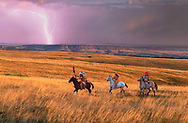 Rolling Prairie, Crow Indian Reservation, Montana,USA