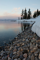 """Lake Tahoe Pebbles"" - These pebbles were photographed at sunset just north of Idlewild, Lake Tahoe, CA."