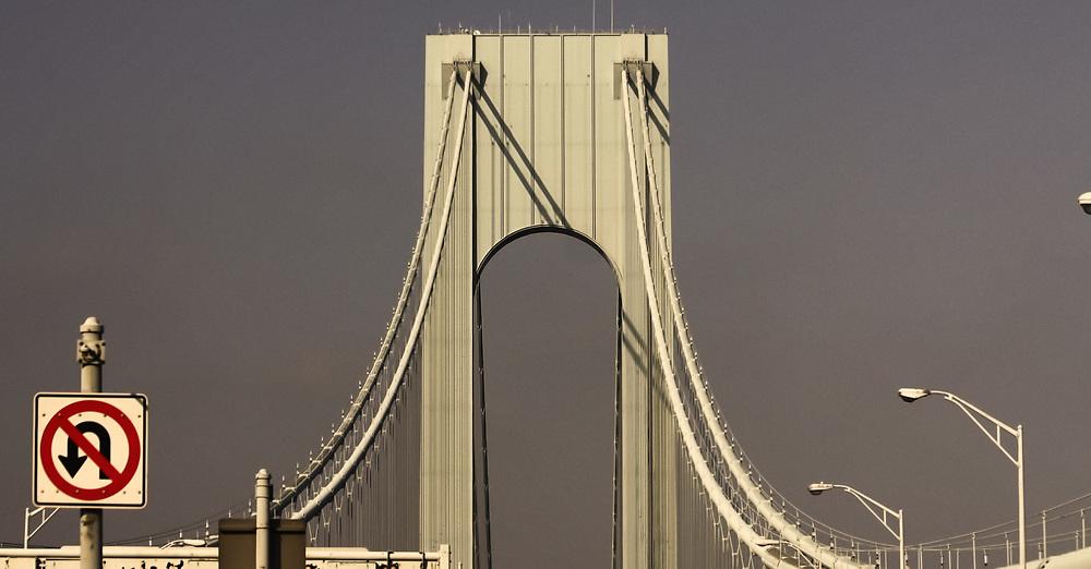 The Verrazano Narrows bridge NYC 2010